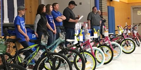 CPS Bikes for Books