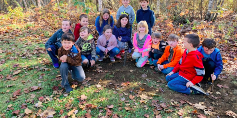 CPS Second Grade's Pumpkin Decomposition Project